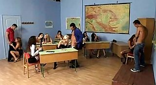 Students sex party at school