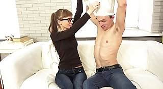 Casual Teen Sex - Nerdy xvideos teeny youporn gets tube8 excited teen porn