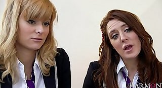 young harlots slutty delinquents-Samantha Bentley, Charlize Tinkerbell